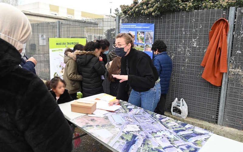 Visuel - Concertation - Projet urbain du Mas