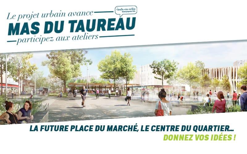 Concertation - Ateliers Mas du Taureau - 7 Juillet 2021