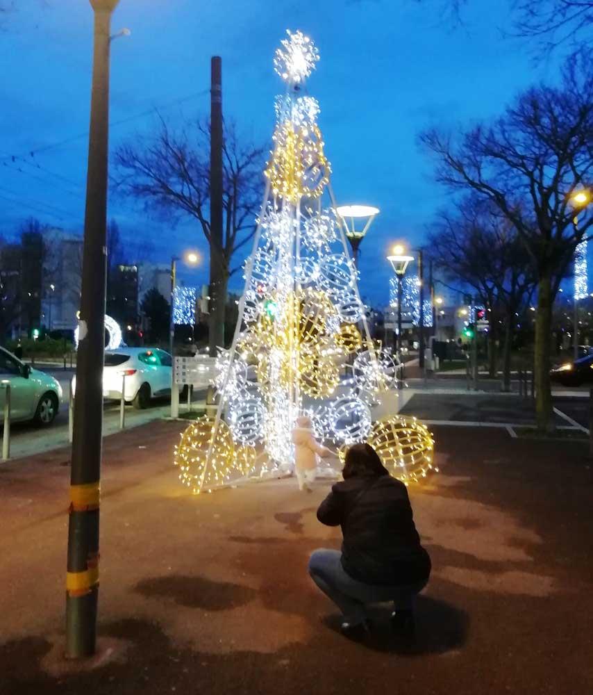 Illuminations au centre Ville - janvier 2020
