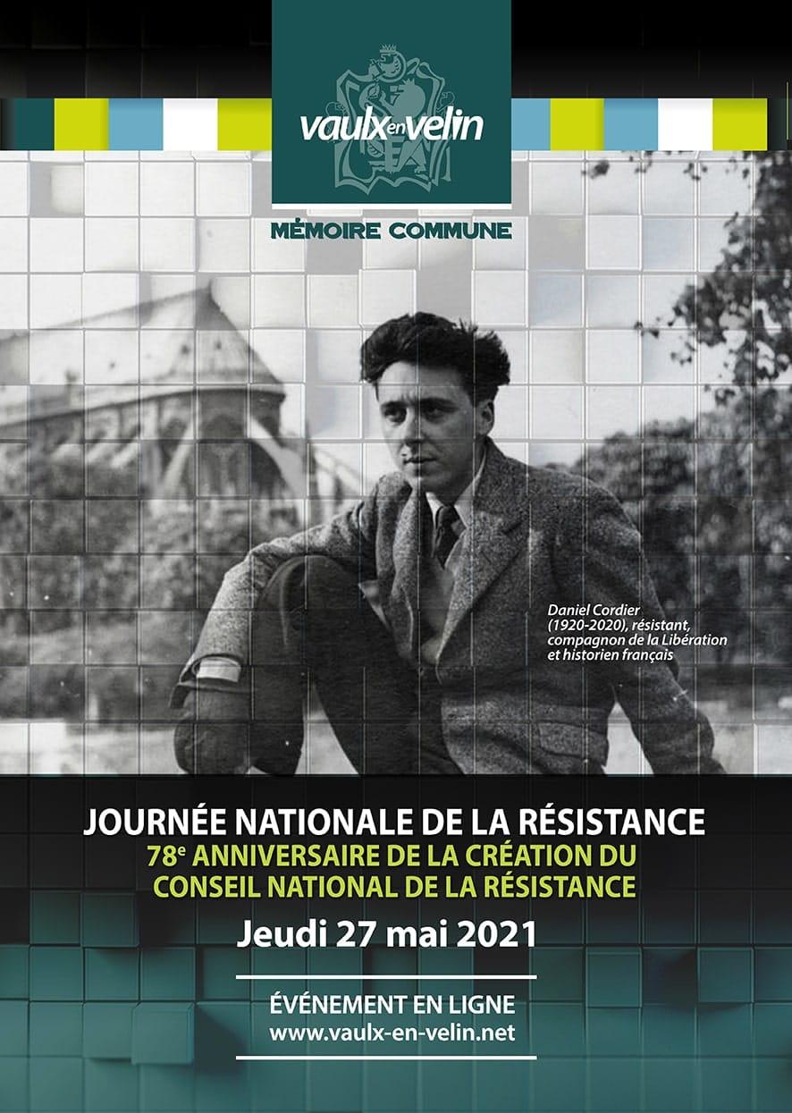 Affiche - Commémoration - Journée nationale de la Résistance