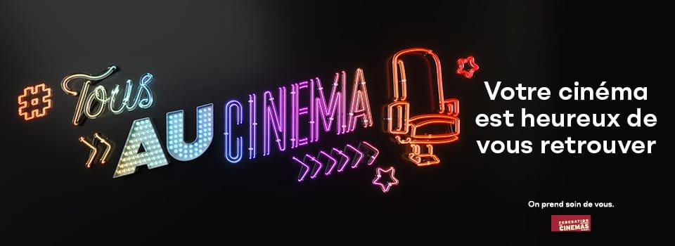 Tous au cinéma - Réouverture des Amphis