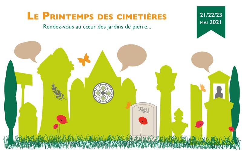 Printemps des cimetières - Visuel 2021