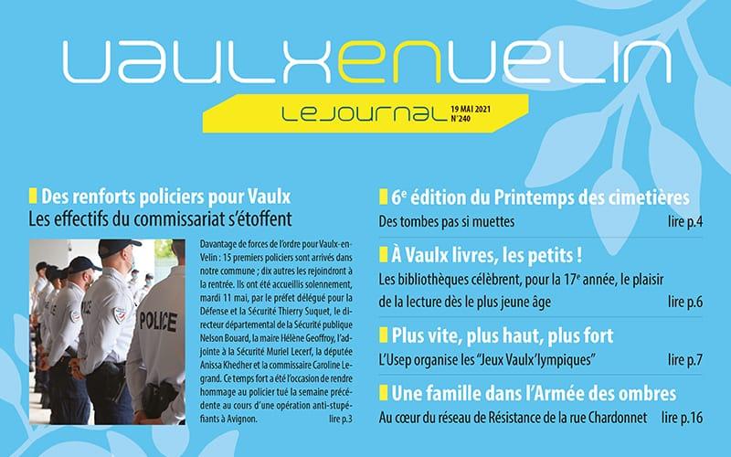 Le n°240 de Vaulx-en-Velin le journal est paru !