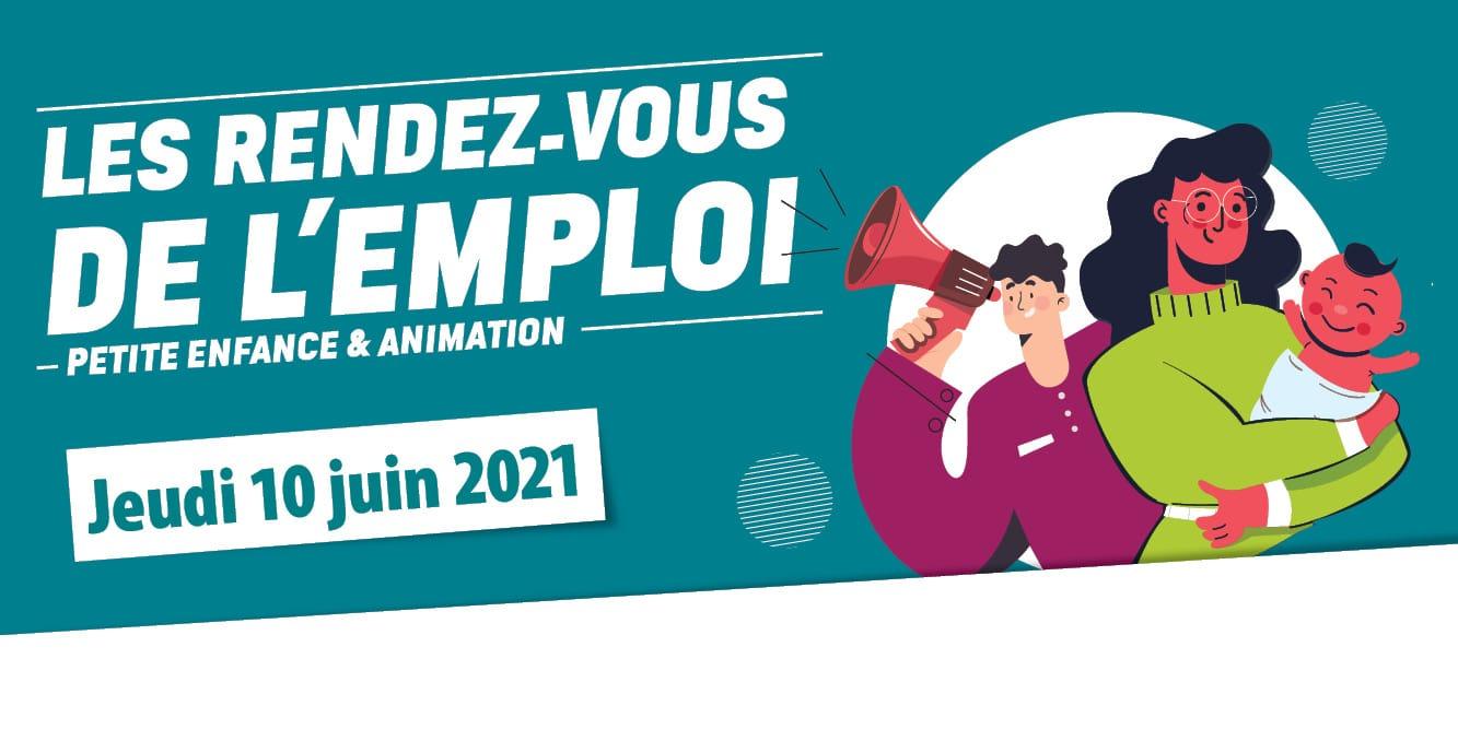 Rendez-vous emploi // Petite enfance et animation