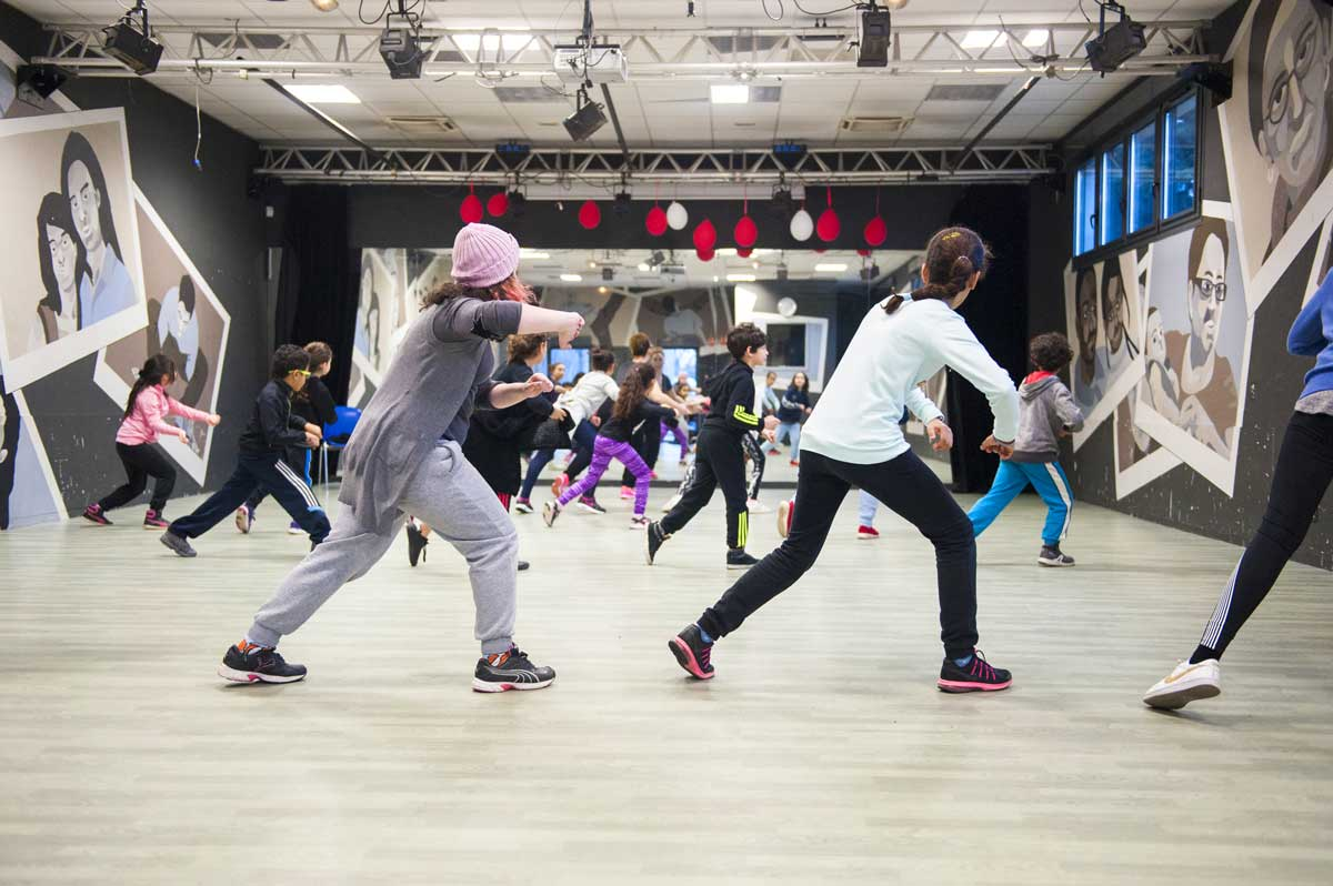Atelier de danse Hip-Hop - Centre Social Peyri - janvier 2017