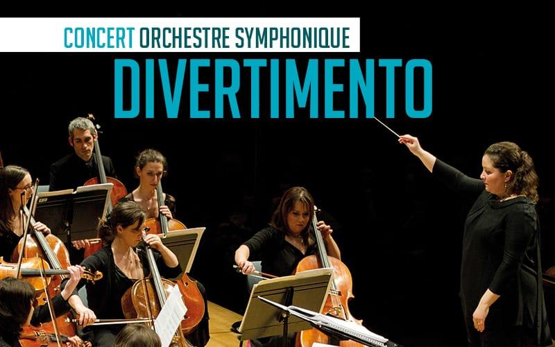 Concert Orchestre Symphonique Divertimento