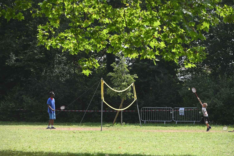 Activété 2021- Badminton - Parc Elsa-Triolet - ©Laurent Cerino