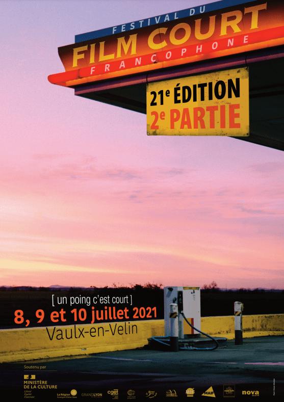 affiche festival du film court francophone