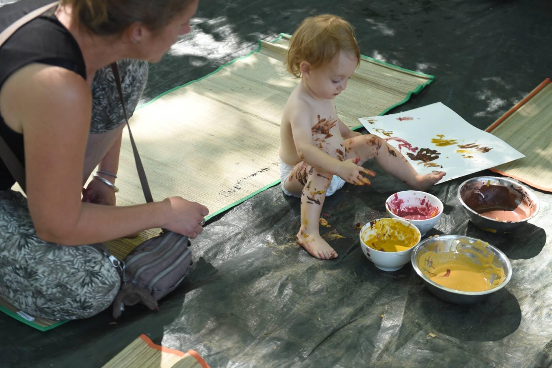 Animation parents/enfants - Activ'été 2021 - Parc Elsa Triolet