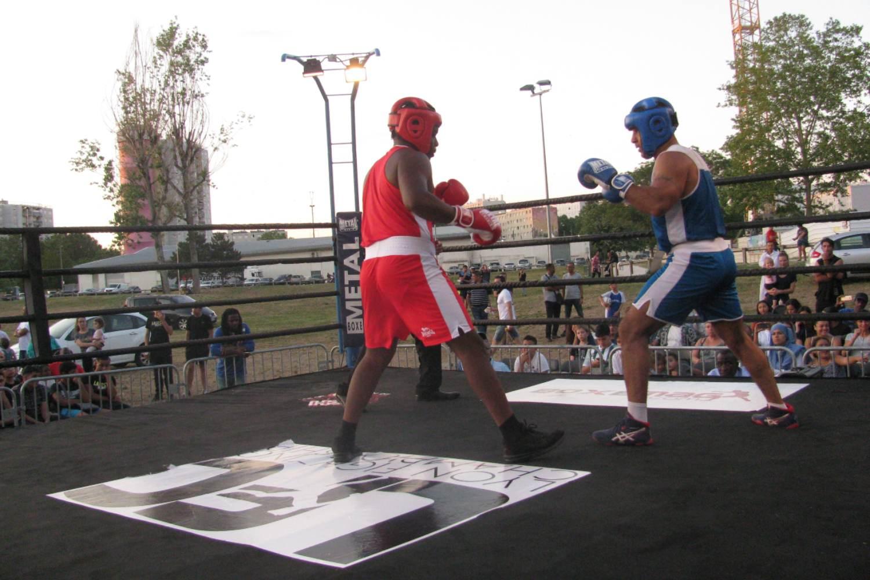 Combat de boxe