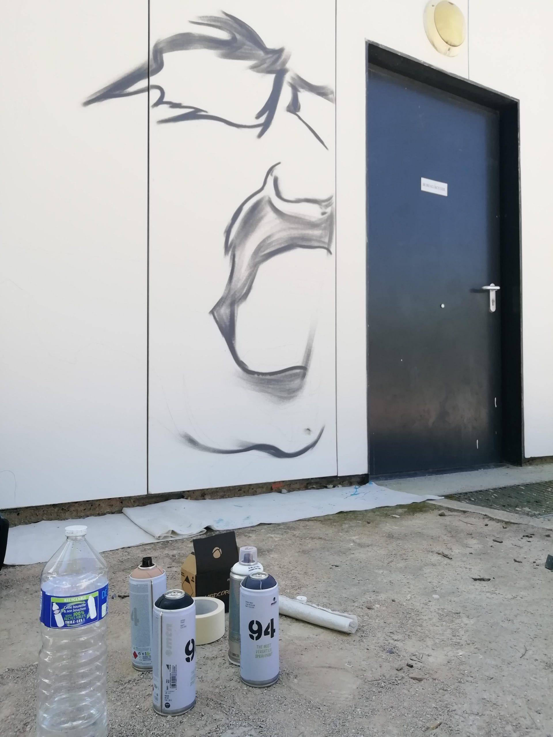 Super rendez-vous - Médiathèque Maison de quartier Léonard de Vinci - Graffiti - juillet et août 2021