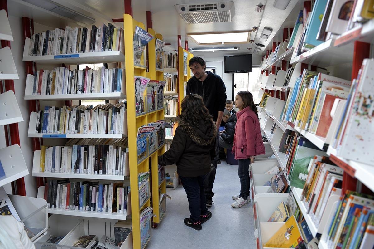 Bibliobus - février 2012 - Photo Jean-Loup Bertheau