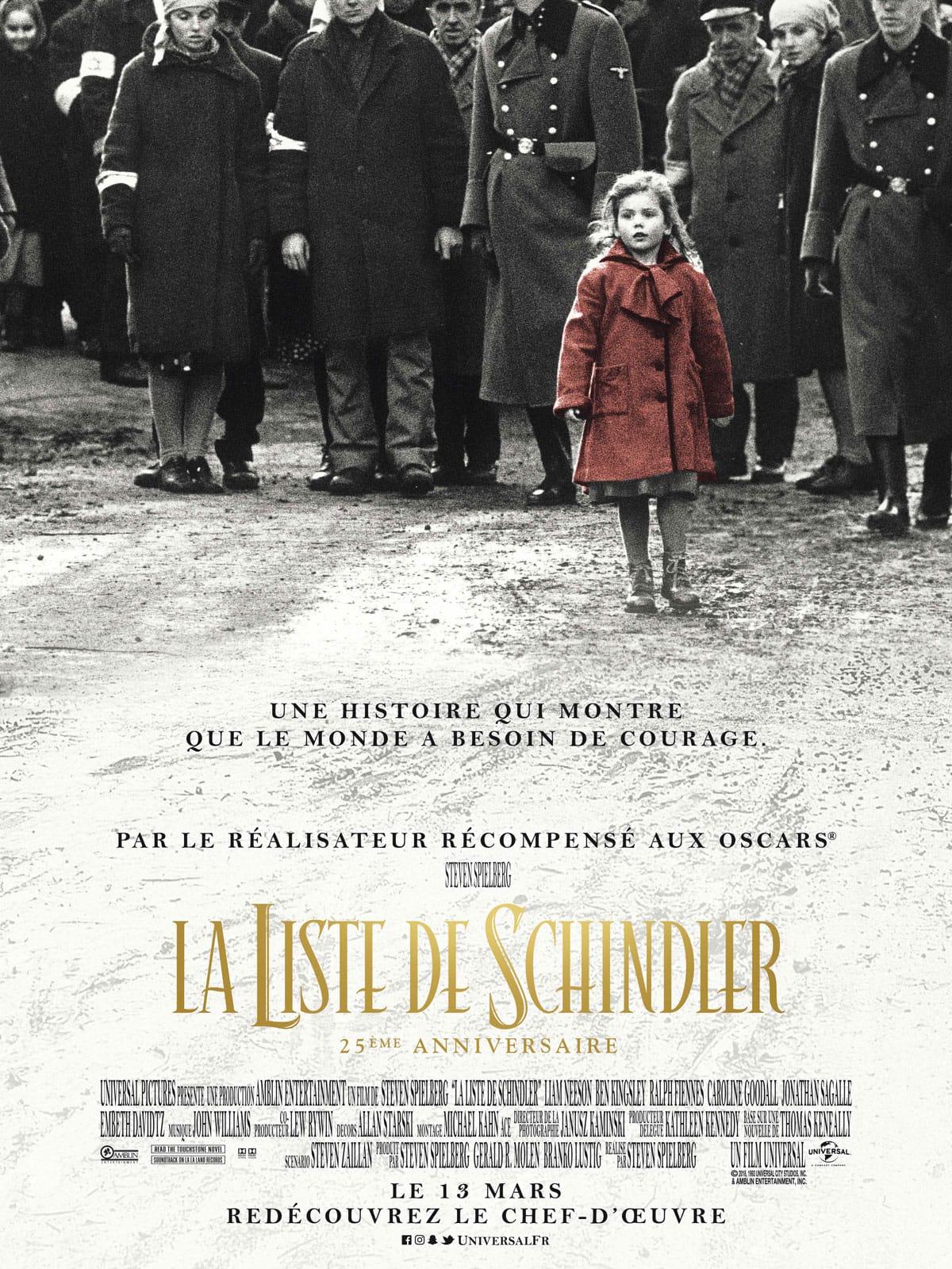 La liste de Schindlerde Steven Spielberg