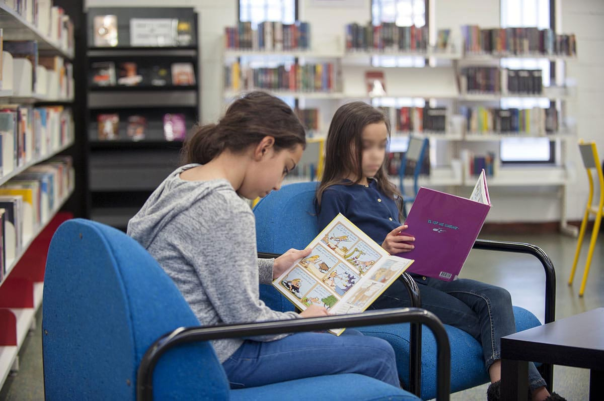 Bibliothèque Perec - lecture - janvier 2016