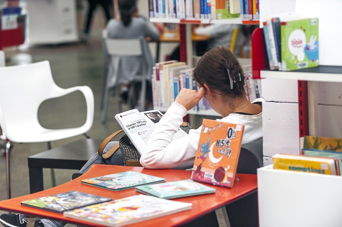 Bibliothèque Perec - septembre 2017 - Photo Thierry Chassepoux