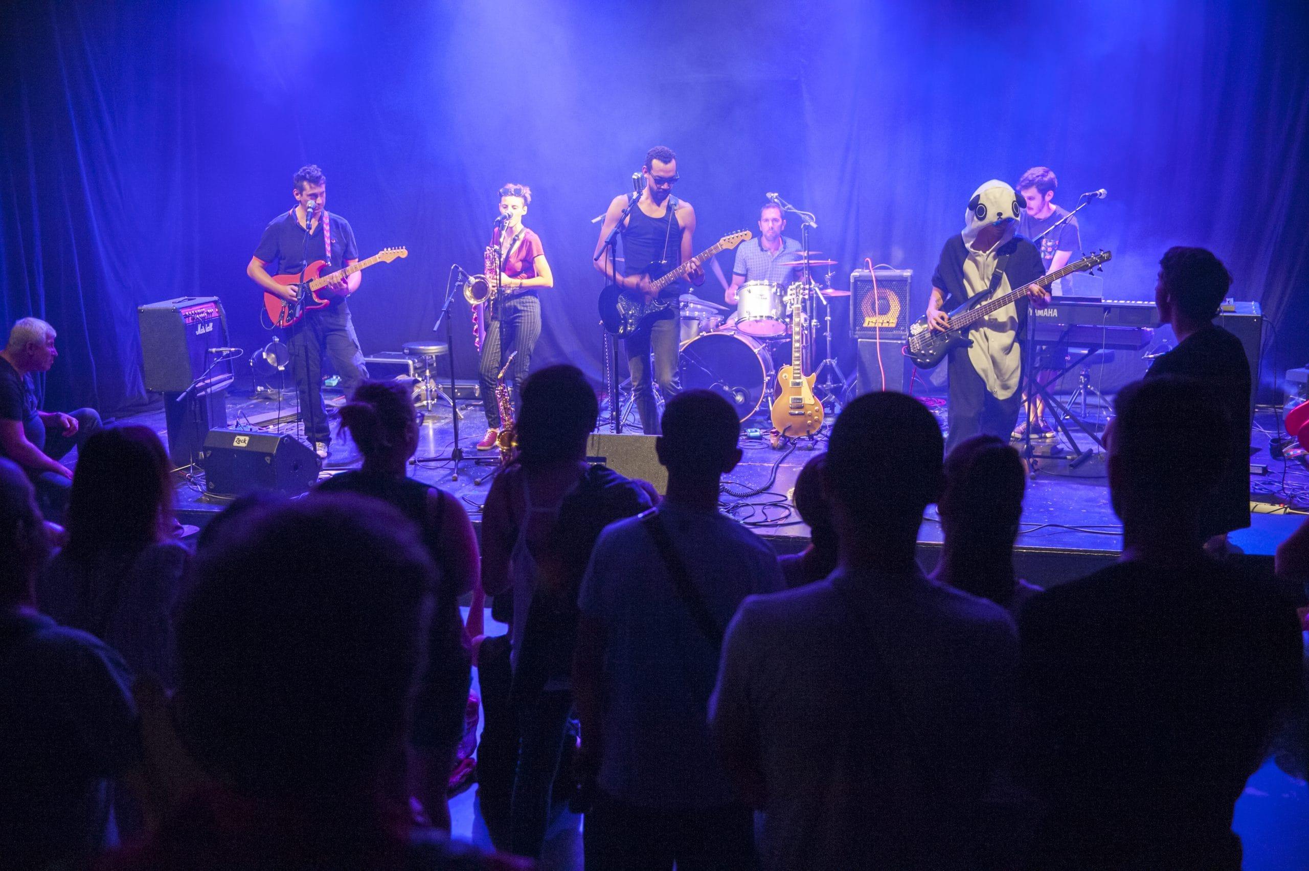 Concert festival des musiques actuelles amplifiées au conservatoire