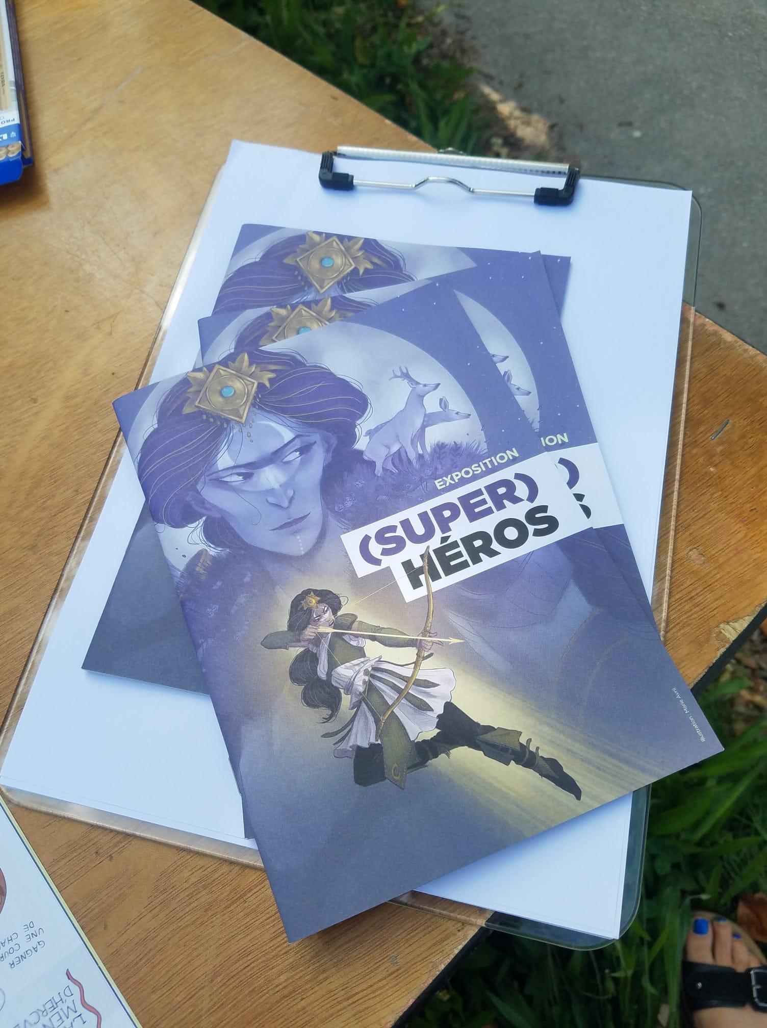 Super rendez-vous - Médiathèque Maison de quartier Léonard de Vinci - atelier Super Héros - 17 août 2021