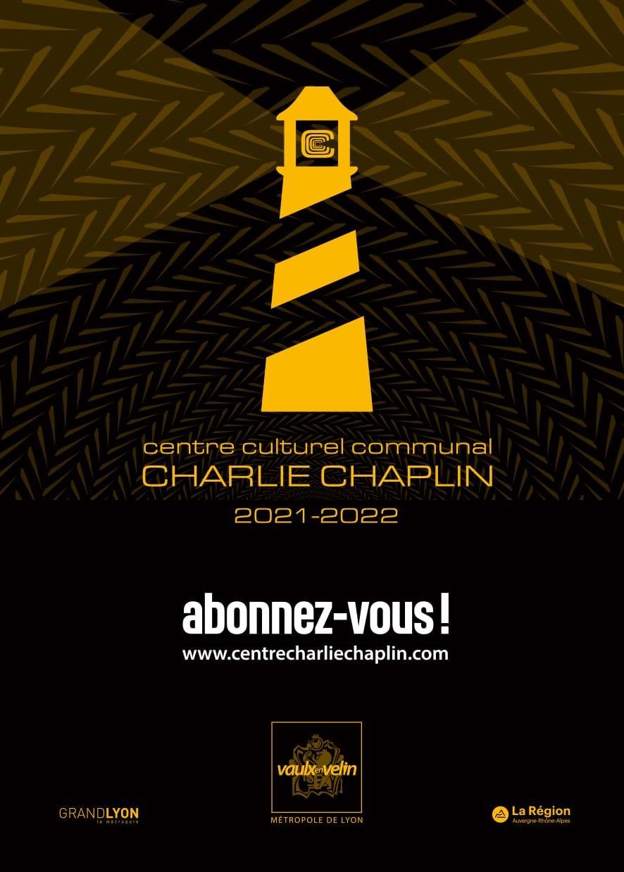 Affiche - nouvelle saison culturelle 2021-2022 - Centre culturel Charlie Chaplin