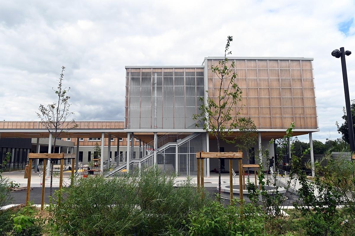École Katherine Johnson - août 2021 - Photo Laurent Cerino