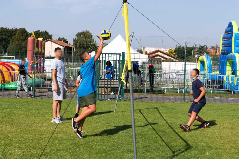 Activété 2021- Volley-ball - Stade Aubert - ©Emmanuel Foudrot