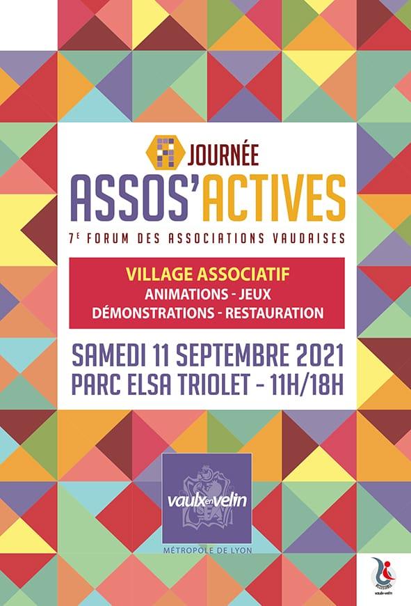 Affiche du Forum des Associations 2021