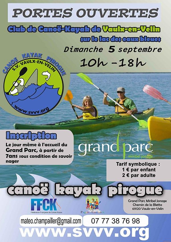 Portes ouvertes canoé-kayak