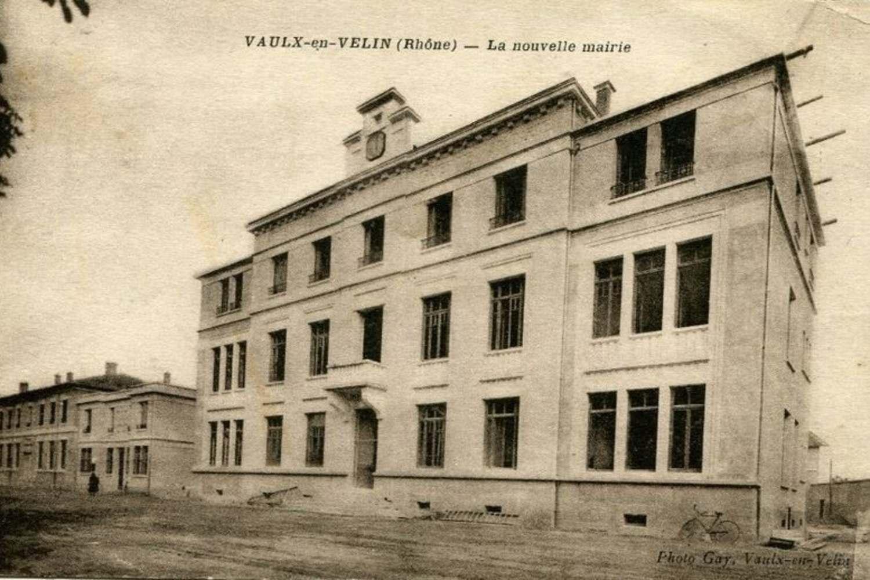 Ancienne mairie du village du Vaulx-en-Velin