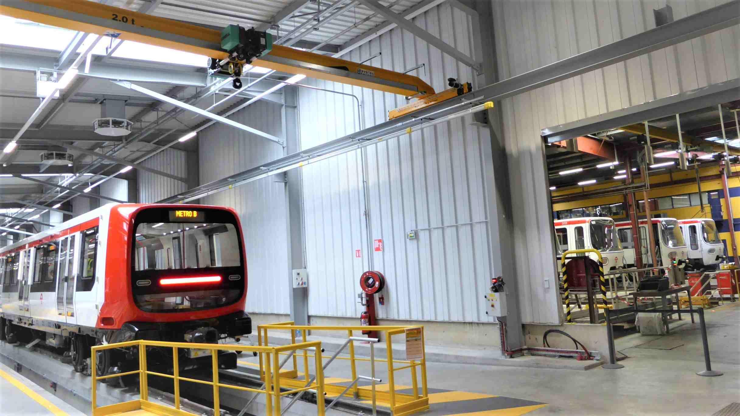 Ateliers de maintenance du métro de Lyon - Vaulx-en-Velin