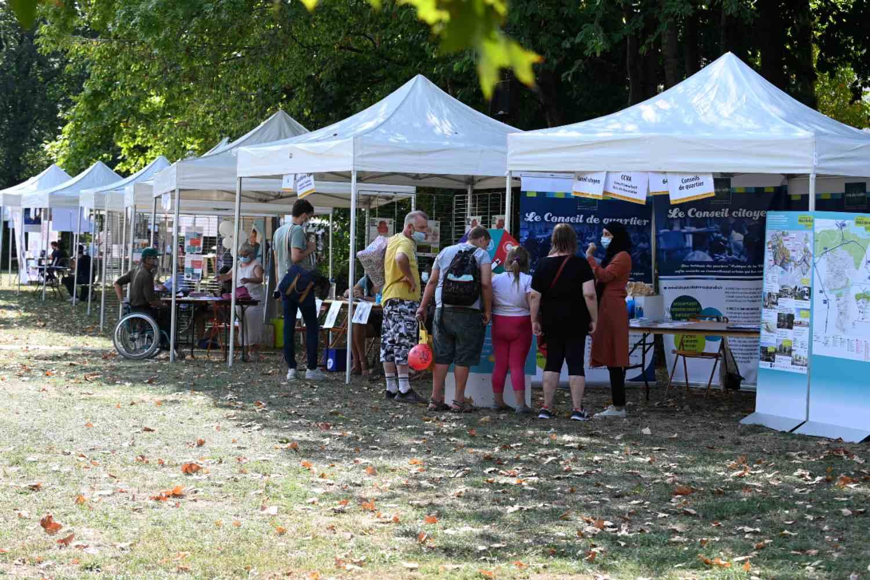 Forum des Associations 2020 - Stands du village associatif - Parc Elsa-Triolet