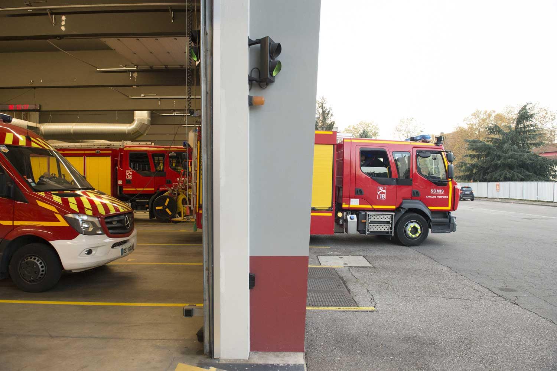 Caserne de Pompiers Villeurbanne Cusset