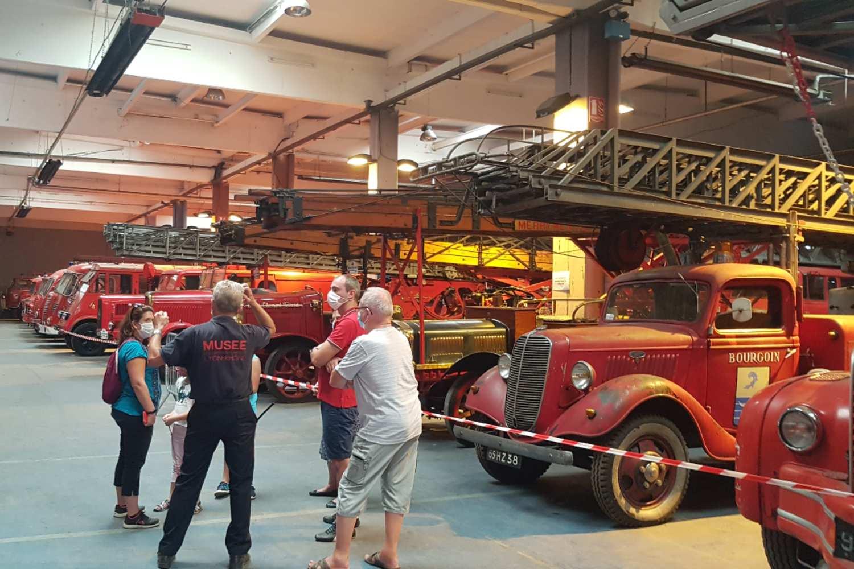 Réserve du musée des sapeurs-pompiers - Vaulx-en-Velin