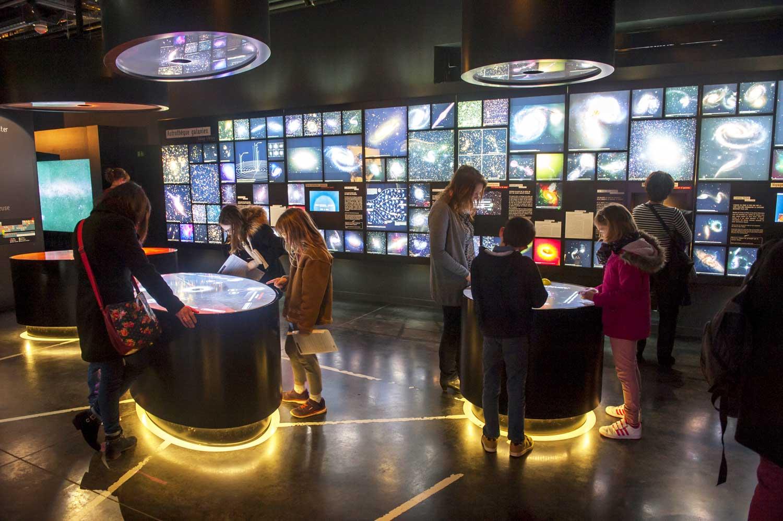 Exposition permanente au Planétarium - février 2016