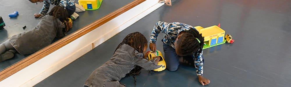 Centre de loisir jean Vilar pour l'accueil des enfants des personnels soignants photo : Laurent CERINO