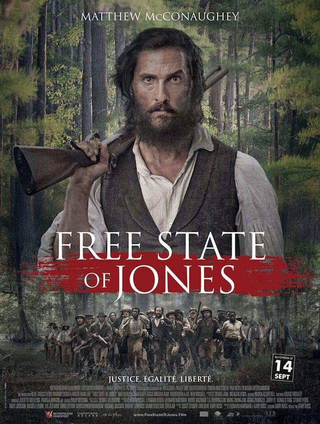 Affiche - Free state of jones, de Gary Ross (2016)