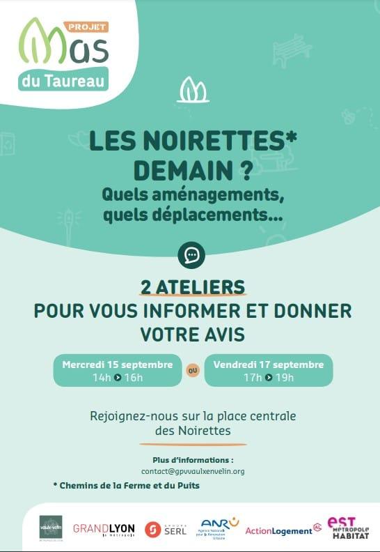 Flyer concertation Noirettes 2021