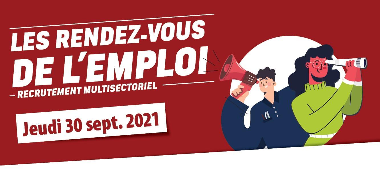 RENDEZ-VOUS DE L'EMPLOI/Multisectoriel – septembre 2021