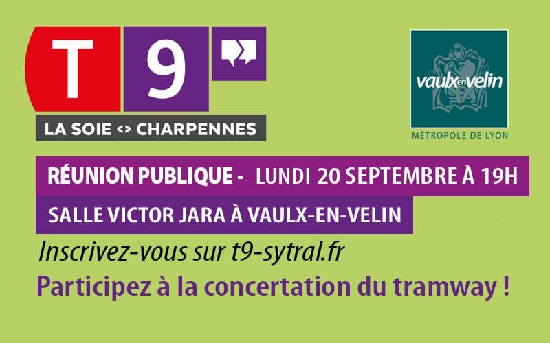Concertation tramway T9 réunion publique