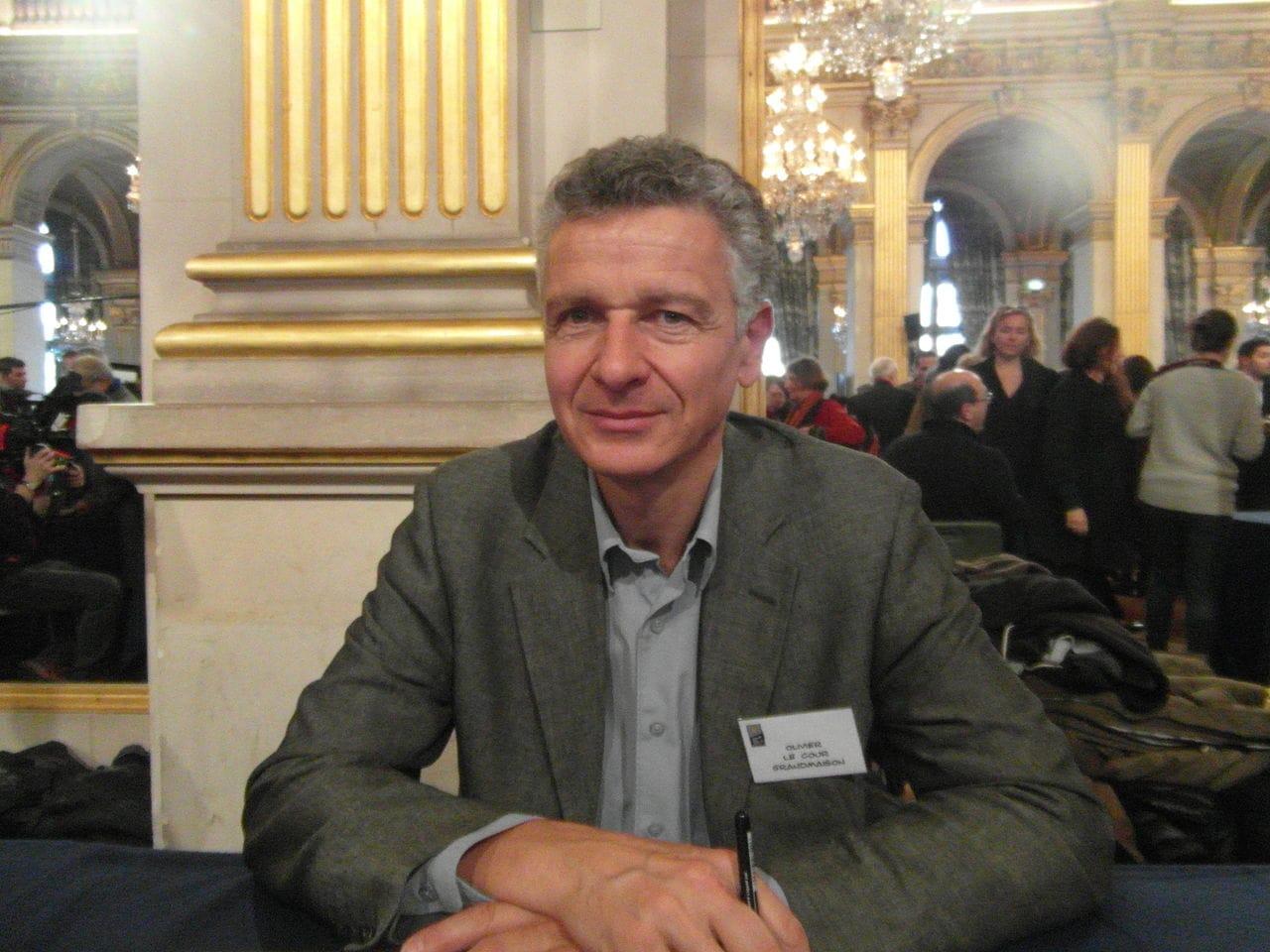 Olivier Le Cour Grandmaison (2) (21e Maghreb des Livres, Paris, 7 et 8 février 2015)