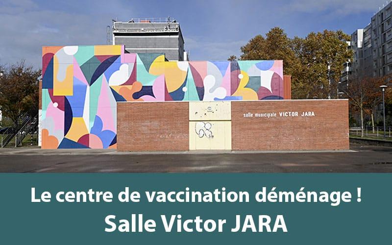 Centre de vaccination de Vaulx-en-Velin Salle Victor Jara