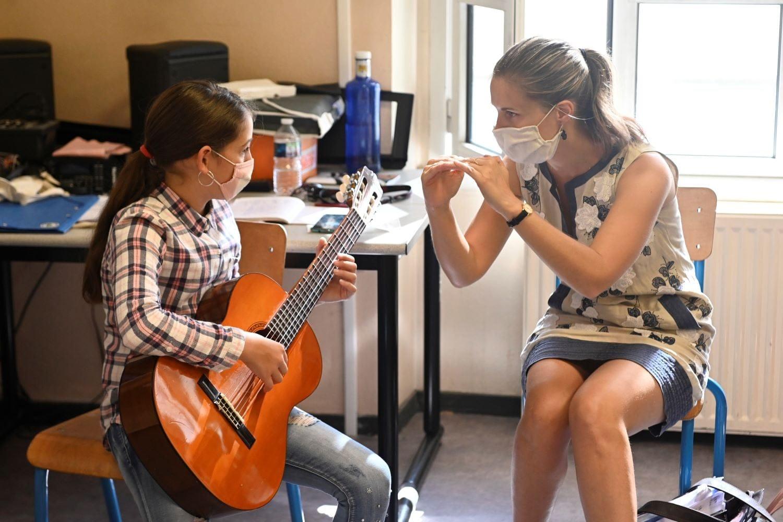 Cours de Guitare à l'École des Arts de Vaulx-en-Velin - 2020