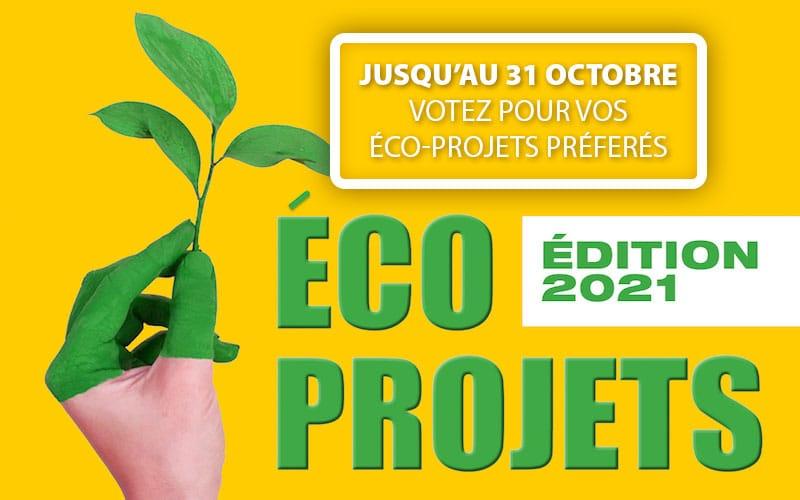 Éco-projets : à vos votes !