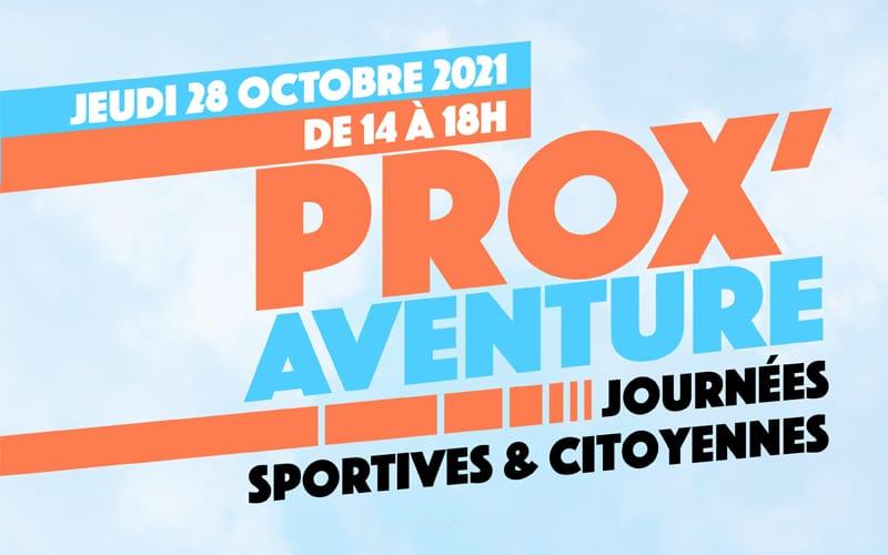 Prox'aventure : journée sportive et citoyenne